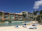 Penthouse is on top floor of the beautiful Oceania Resort's beachside building