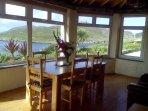 Sunroom with panoramic views