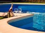 Enjoy the best Dalmatian wines in a beautiful pool atmosphere