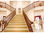 Gone with the wind staircase in the main villa