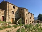 Gite Canigou is on the 1st floor, on the far side of the house (access via steps from car park)