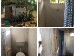 Downstairs/ Garden shower and toilet