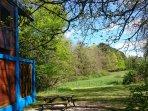 Roulotte 4 saisons, ouvert toute l'année, chauffage. Région Centre Val de Loire Pays des Châteaux