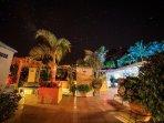 Gran terraza en las zonas comunes, de donde podremos apreciar Tenerife y la Gomera