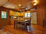 Fully-Equipped Kitchen and Dining Area