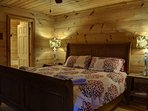 Bedroom 1 (Master) - King Bed, Main Level