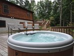 Spacious Deck and Hot Tub