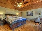 Bedroom 3 - King Bed, Upper Level
