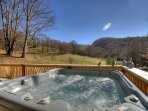 Views from Hot Tub