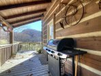 Covered Porch with Grill