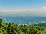 Long Range Mountain Views from Top of Ridge