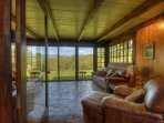 Mountain Views from Front Sunroom