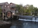 The Old Mill is located approximately one block away from Rivergate