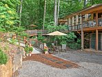 Situated on Lookout Mountain, nature and adventure abound in this spectacular location!