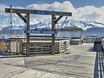 Walk down to the dock to hop aboard a fishing charter boat or take a sightseeing tour.
