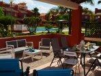 Apartamento en Mar de Cristal con preciosa terraza bien amueblada para descansar