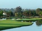 One of the many local golf courses. La Costa
