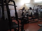 The gym in the main hotel building is available for our guests use, free of charge