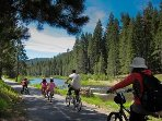 Bike from Truckee to Tahoe City on the Trucke River