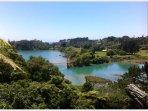 Urenui River and Beach
