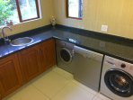 Scullery, laundry area
