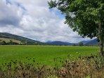 Looking West from Aberfeldy