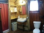 Brand New in 2017, spacious bathroom w/36' shower stall