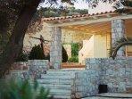 Entrance of the villa Marialina -main gate-