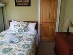 DOUBLE BED IN BEDROOM 3