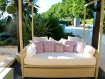 Luxury Siesta poolside day bed