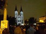 Ludmila Church 2 minutes walk