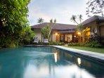 view private pool villa closed style