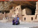 Visit Mesa Merde National Park and ruins 1.15hr drive