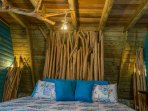 Chalet 3, Turquoise Bedroom: details