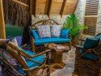 Chalet 3 : sofa terrace