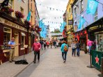 The vibrant, artistic city of Galway , a pleasant 40mins drive from Springfield.