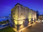 Hondarribia, château de Charles Quint 10ième et 15ième siécle Transformé en  Hôtel Parador