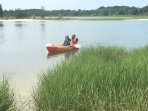 10 minutes to bay for spectacular kayaking