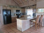Large open kitchen is made for entertaining or just daily meal prep. All the conveniences of home.