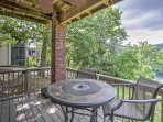 This 2-bedroom, 2-bathroom condo in Branson overlooks the Ozark Mountains and beautiful Lake Taneycomo from the private...