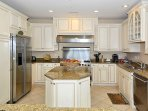 Upscale Gourmet Kitchen Viking Appliances