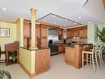 High End Granite Counters Stainless Appliances