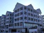 Top Floor Balcony faces Assawoman Bay