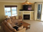 Love Seat Full Sofa and 2 Tub Chairs in Living Room