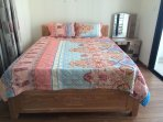 Bedroom 2 with 1 queen-size bed, 1 balcony