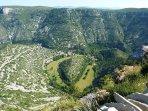 Cirque de Navacelles (25 mn)