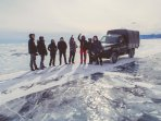 On the ice of Lake Baikal / 3km from eastories farm