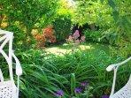 garden seats to enjoy the day