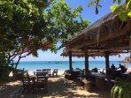 Bar/restaurant at nearby beach