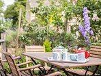 A perfect space for al fresco dining